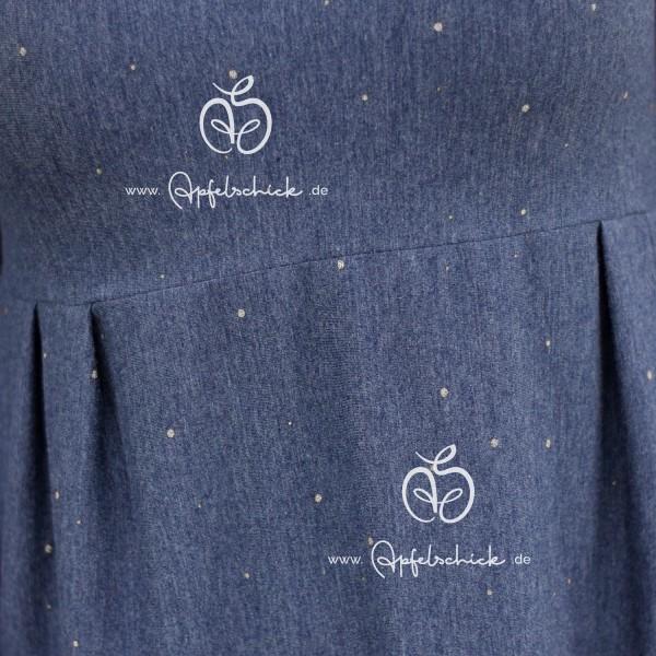 Pünktchen Jeans-Silber BIO-Eigenproduktion (kbA)