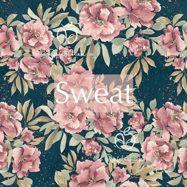 Sweat Vintage Pastel Rose BIO-Eigenproduktion (kbA)