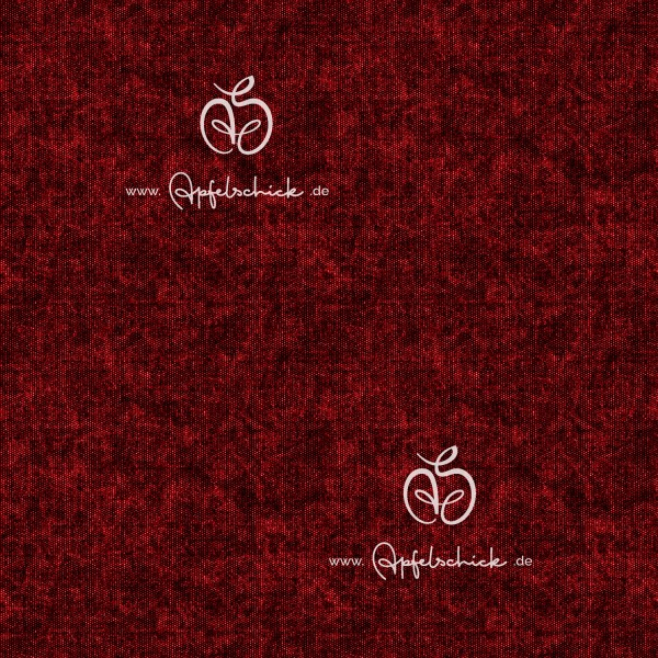 Tweed Look Rot BIO-Eigenproduktion (kbA)