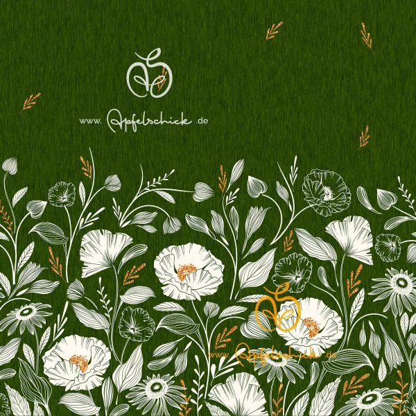 Wildblumen Grün BIO-Eigenproduktion (kbA)