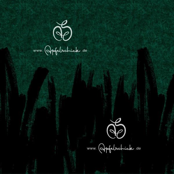 Sweat Painted Tweed Jade BIO-Eigenproduktion (kbA)