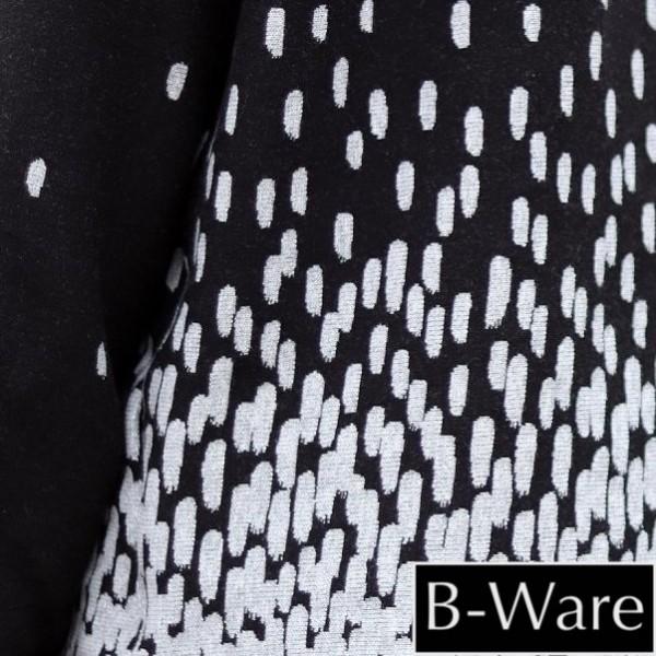 B-WARE!!! BIO-Jacquard Elegant Dress Schwarz-Silber Eigenproduktion