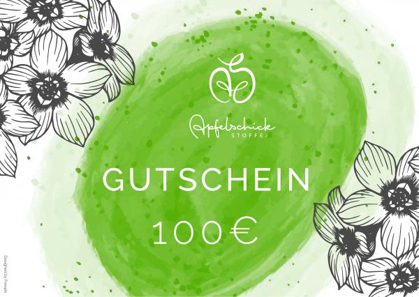 ApfelSchick Geschenkgutschein 100 Euro