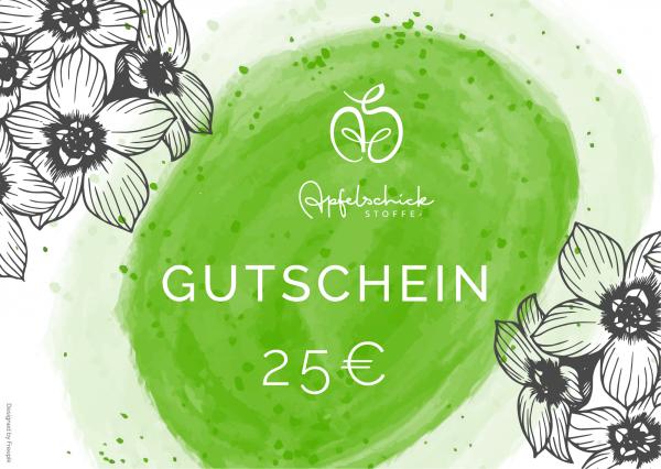 ApfelSchick Geschenkgutschein 25 Euro