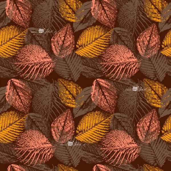 Herbstblätter Cappuccino BIO-Eigenproduktion (kbA
