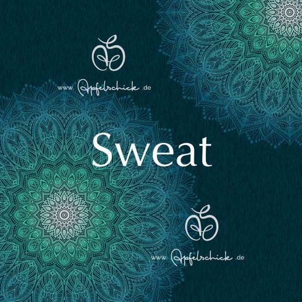 Sweat Big Mandala Lagoon BIO-Eigenproduktion (kbA)