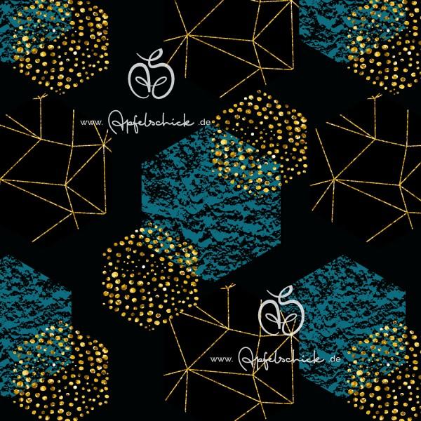 SWEAT Honeycomb Cosmos Night Gold BIO-Eigenproduktion (kbA)
