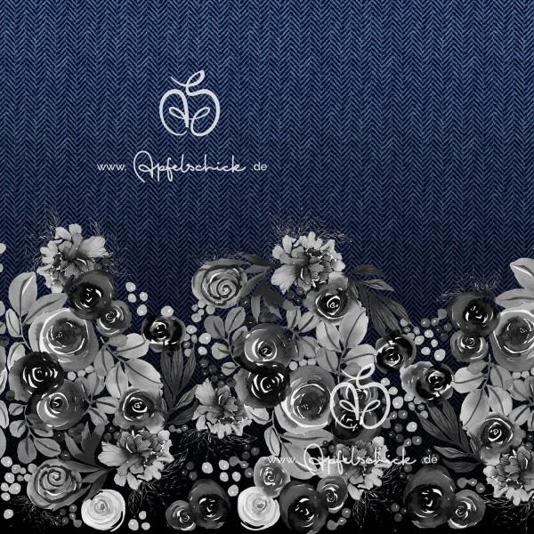 Herringbone Roses Jeans BIO-Eigenproduktion (kbA)