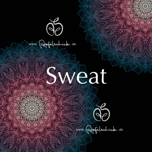 Sweat Big Mandala Sunrise BIO-Eigenproduktion (kbA)