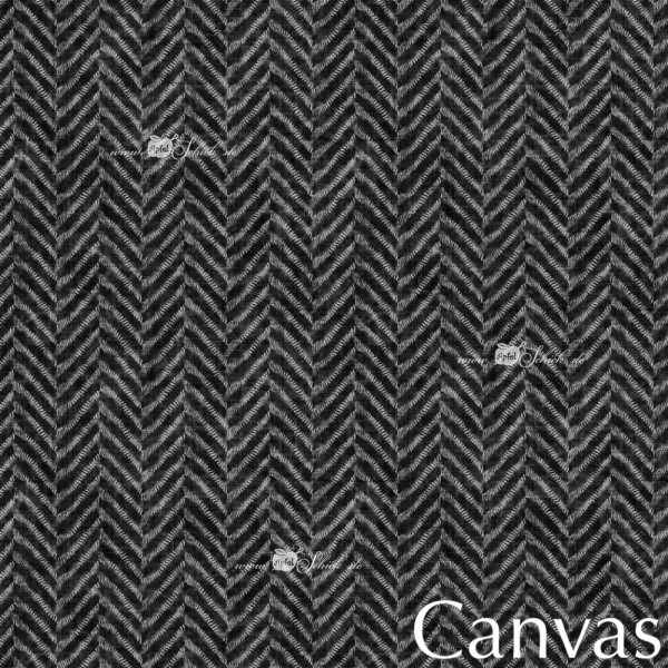 Canvas Herringbone Grau BIO-Eigenproduktion (kbA)