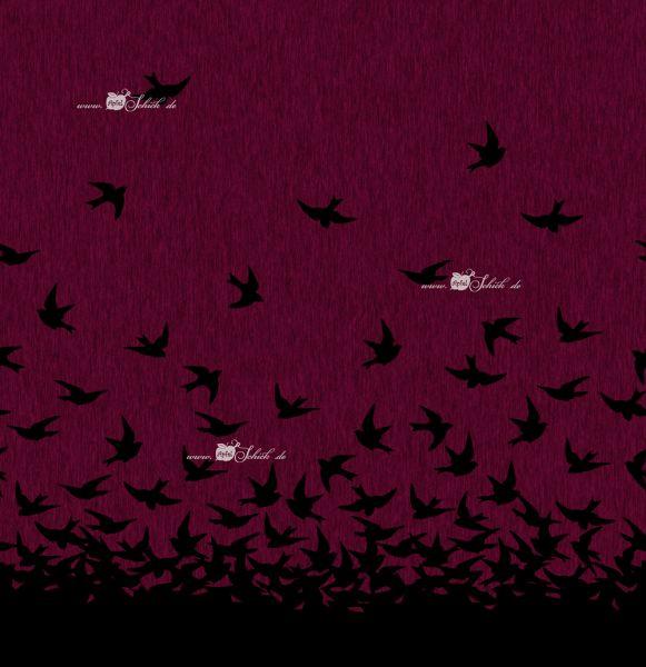 Swallow Dress Beere-Schwarz BIO-Eigenproduktion (kbA)