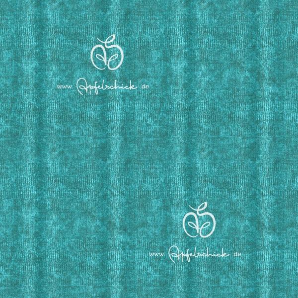 Tweed Look Aqua BIO-Eigenproduktion (kbA)