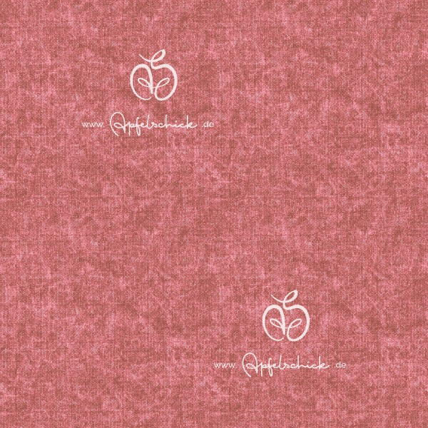 Tweed Look Altrosa BIO-Eigenproduktion (kbA)