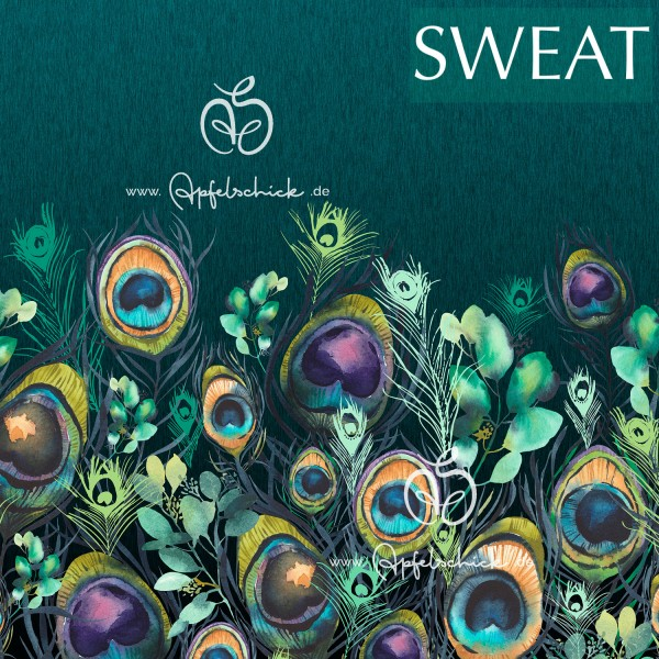 SWEAT Peacock Feathers BIO-Eigenproduktion (kbA)