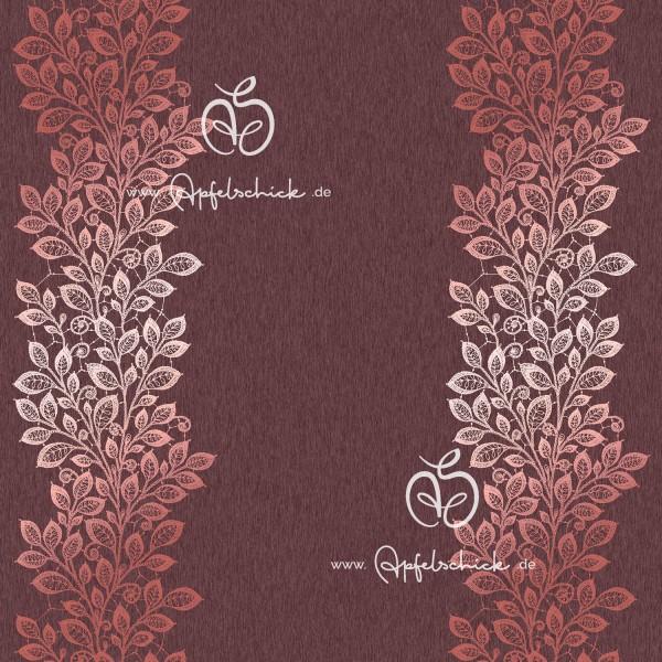 SWEAT Lace Leaves Rosé BIO-Eigenproduktion (kbA)