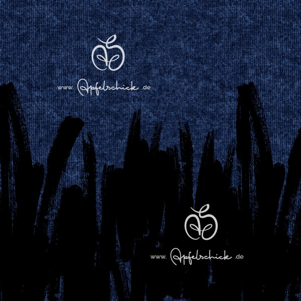Sweat Painted Tweed Jeans BIO-Eigenproduktion (kbA)
