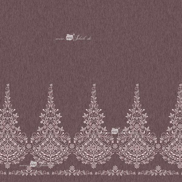Embroidery Dress Taupe-Rosé BIO-Eigenproduktion (kbA)
