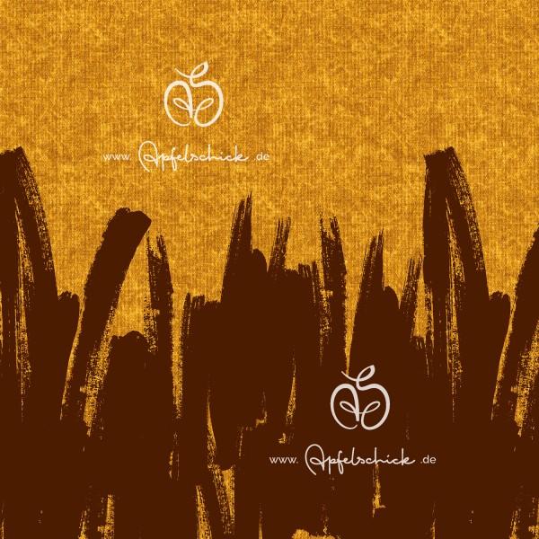 Sweat Painted Tweed Gold BIO-Eigenproduktion (kbA)