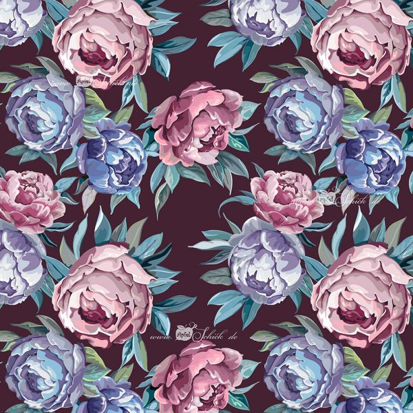 Oldschool Roses Bordeaux BIO-Eigenproduktion (kbA)