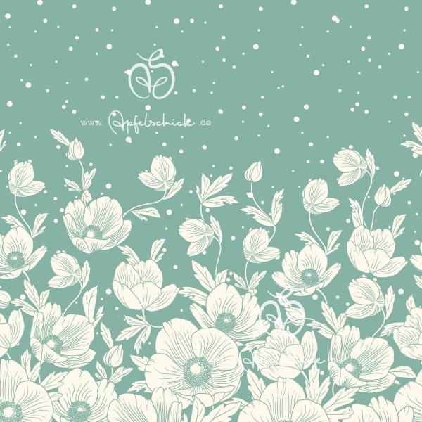 SWEAT Poppies Dress Mineral BIO-Eigenproduktion (kbA)