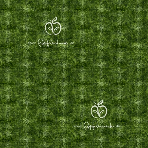 Tweed Look Grün BIO-Eigenproduktion (kbA)