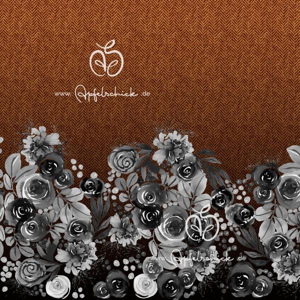 Herringbone Roses Karamell BIO-Eigenproduktion (kbA)