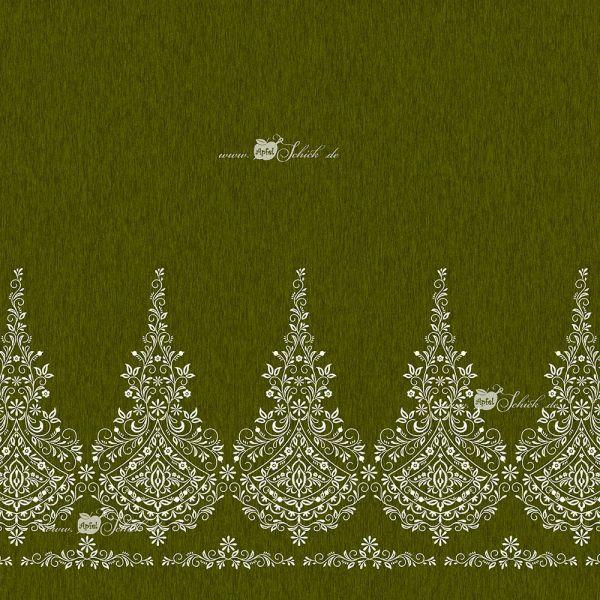 Embroidery Dress Grün BIO-Eigenproduktion (kbA)