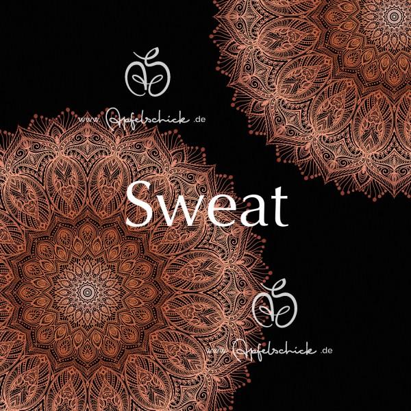 Sweat Big Mandala Copper BIO-Eigenproduktion (kbA)